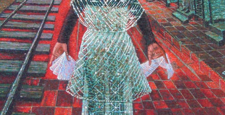 THE GLENN FOUNDATION, CHARLOTTE, NC, ARTIST JOHN BIGGERS, WITH MIOTTO MOSAIC ART STUDIOS INC.