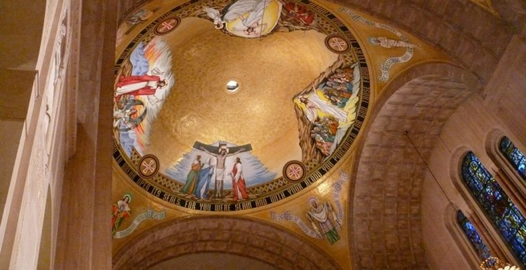 BASILICA OF THE NATIONAL SHRINE OF THE IMMACULATE CONCEPTION, WASHINGTON D.C. ARTIST: RAMBUSCH STUDIO
