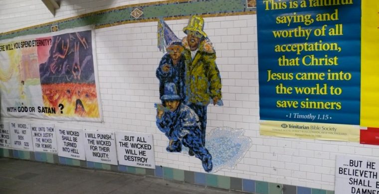 MTA, NYC SUBWAY, ARTIST AMY DICKSON, WITH MIOTTO MOSAIC ART STUDIOS INC.