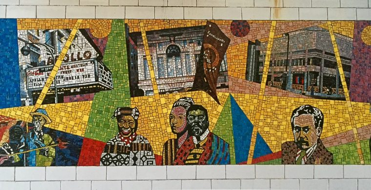 MTA, NYC SUBWAY, ARTIST, VINCENT SMITH, WITH MIOTTO MOSAIC ART STUDIOS INC.