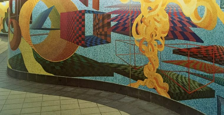 MTA, NYC SUBWAY, ARTIST AL HELD, WITH MIOTTO MOSAIC ART STUDIOS INC.